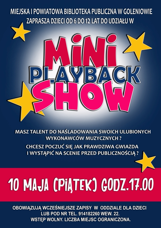Mini Playback Show